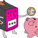 Superpatrone - Nachfüllpatronen sparen bares Geld - Visualisierung Sketchnnotemafia