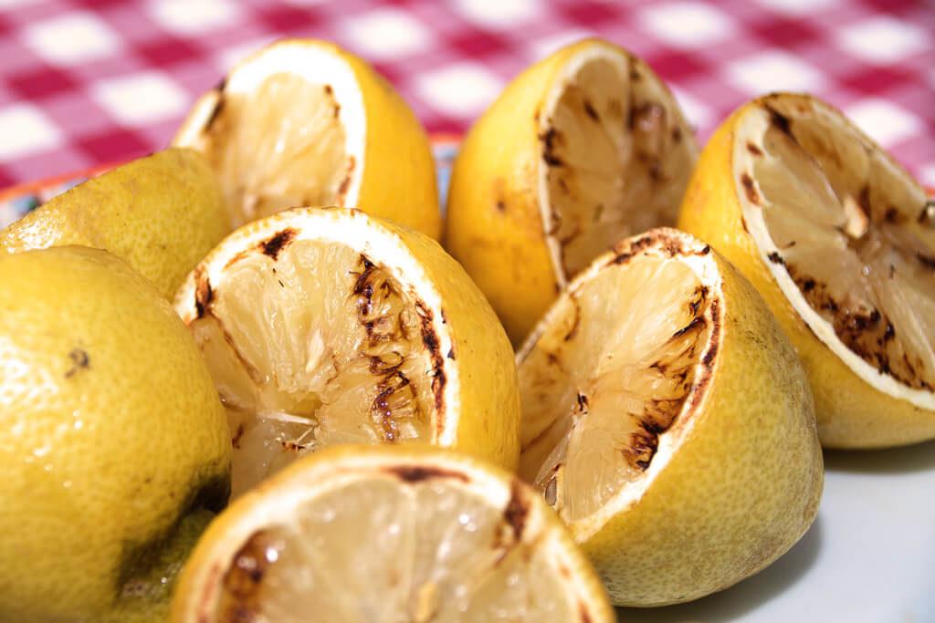 Gegrillte Zitronen - Foto von Lena Schroeter