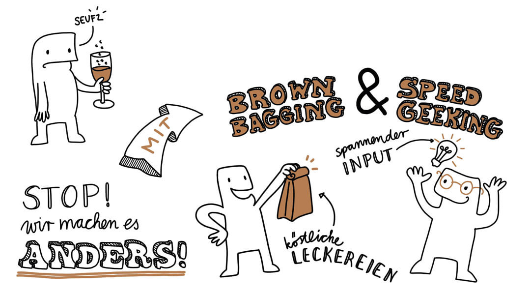 Sketchnote Einladung RheinMain CongressCenter Closeup