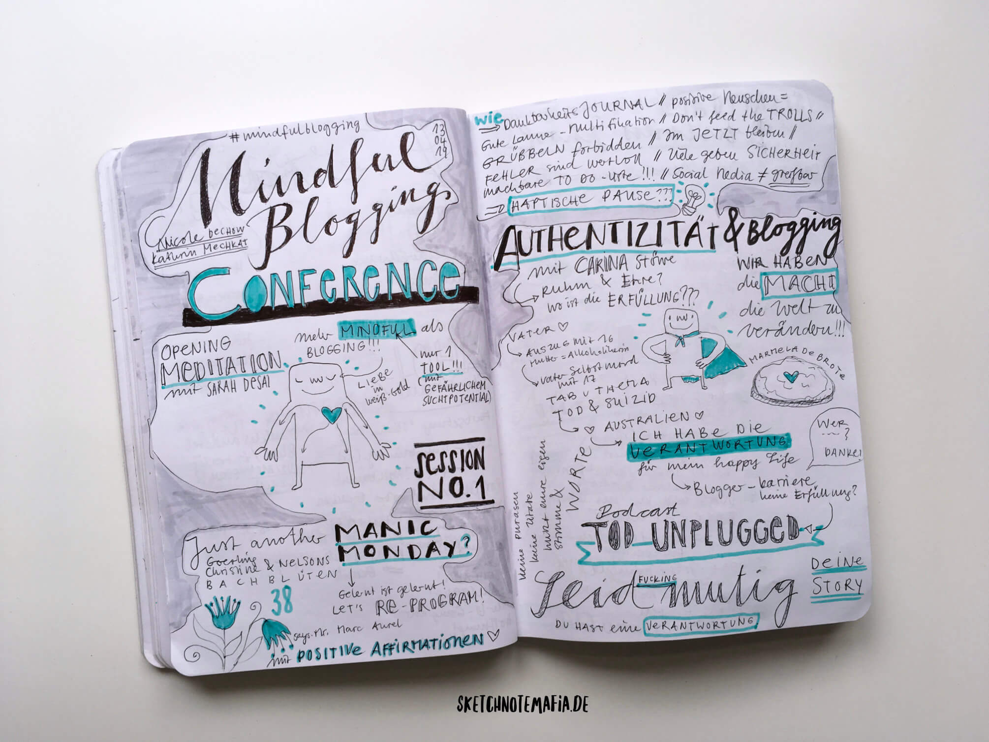 Mindful Blogging Conference - Authentizität
