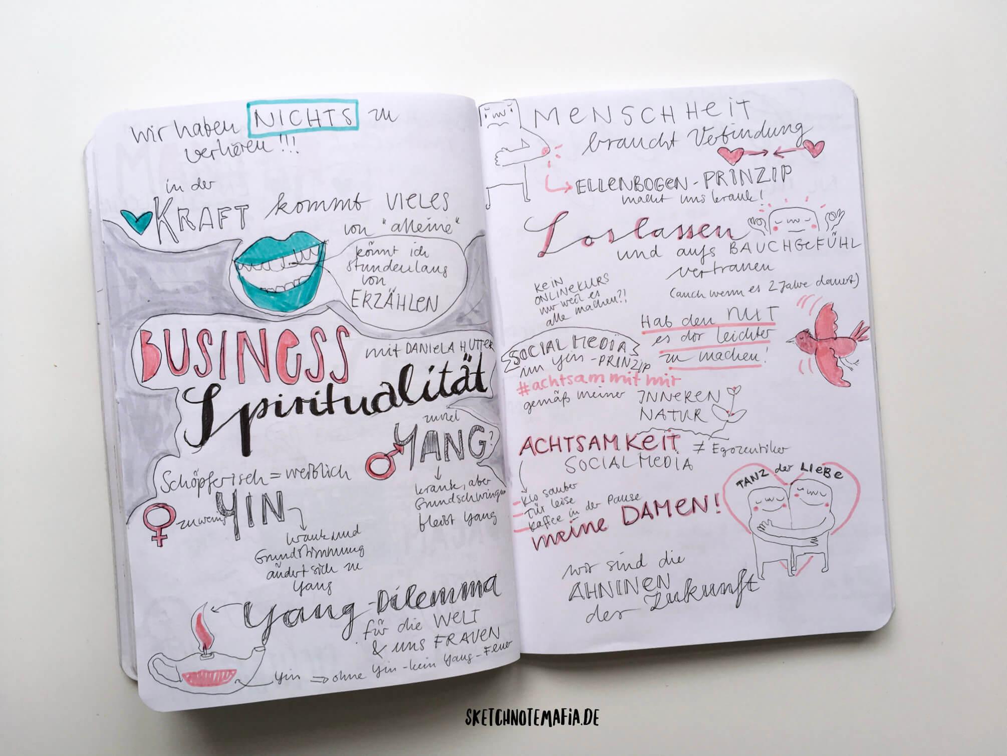 Mindful Blogging Conference - Business Spiritualität